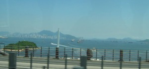first glimpse of Hong Kong