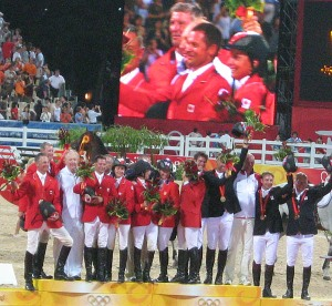 the 2008 Olympic medallists