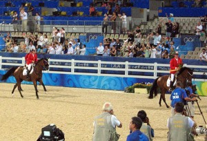 the silver medal victory gallop