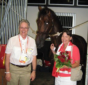 Sara Houstoun and Larry Evoy - owners of Ole