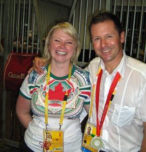 Jenn Ward and Eric