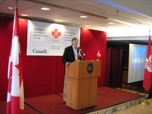 Equine Canada president Al Patterson