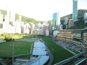 Happy Valley racetrack