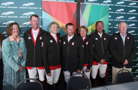 2012 Canadian Olympic Team - Jumping