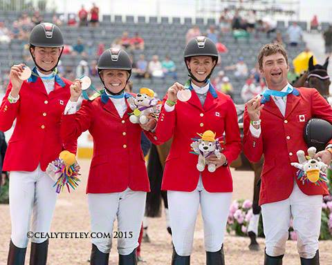 2015 Pan American Games Eventing Team Bronze - Canada