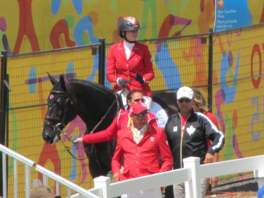 Tiffany Foster & Triple X III - 2015 Pan American Games Showjumping