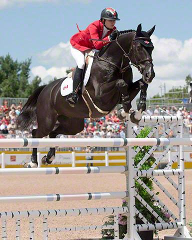 Tiffany Foster & Tripple X III - 2015 Pan American Games Showjumping Team Canada