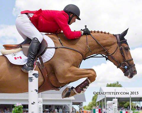 Yann Candele & ShowGirl - 2015 Pan American Games Showjumping Team Canada